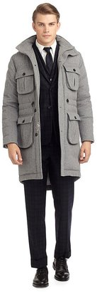 Brooks Brothers Cashmere Quilted Coat