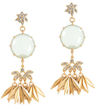 J.Crew Fringed drop earrings