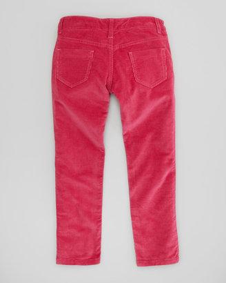 Oscar de la Renta Girls' Corduroy Pants, Hot Pink, 4Y-10Y