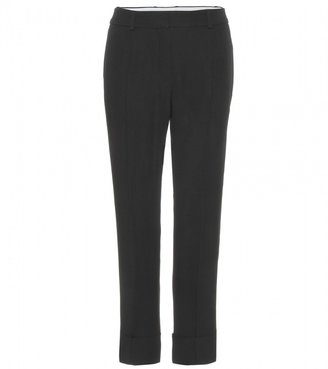 Chloé CREPE CROPPED TROUSERS