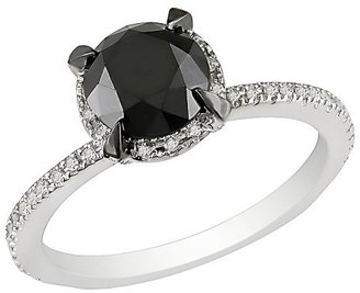 Diamond 2 CT. Black & White Fashion Ring