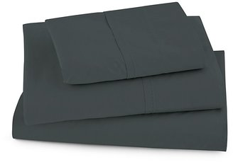 Donna Karan Saddle Stitch Fitted Sheet, King