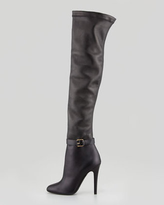 Jimmy Choo Tamba Stretch Over-the-Knee Boot