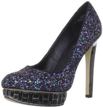Boutique 9 Women's Lidia Glitter Platform Pump