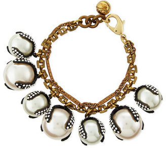 Lulu Frost Decade Simulated Pearl Bracelet $338 thestylecure.com
