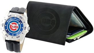 Chicago Cubs Watch & Wallet Gift Set