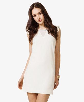Forever 21 Sheer Paneled Sheath Dress