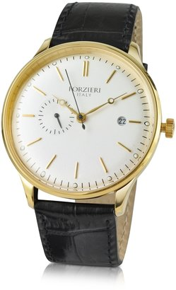 Forzieri Automatic Gold Plated Dress Watch