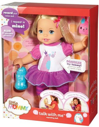 Mattel Little mommy talk with me repeating doll