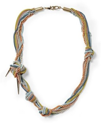 Juicy Couture Tinley Road Knotted Multi Chain Necklace