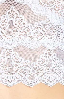 Only Hearts 'So Fine' Cropped Lace Camisole