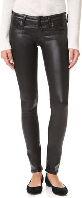 Citizens of Humanity Racer Leatherette Jeans $238 thestylecure.com