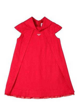 Armani Junior Techno Flannel Dress