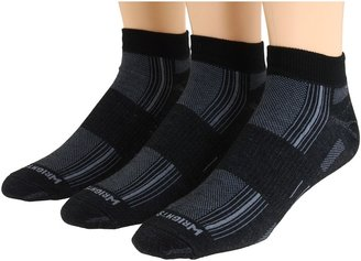 Wrightsock Stride Lo 3-Pair Pack Low Cut Socks Shoes