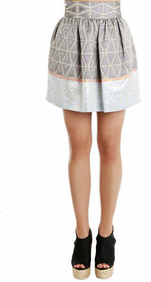Suno Cinched Mini Skirt
