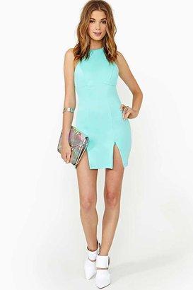 Nasty Gal Marina Zip Dress