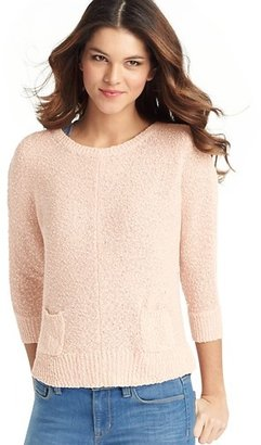 LOFT Textural Dolman Sleeve Sweater