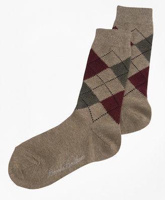 Brooks Brothers Argyle Sock