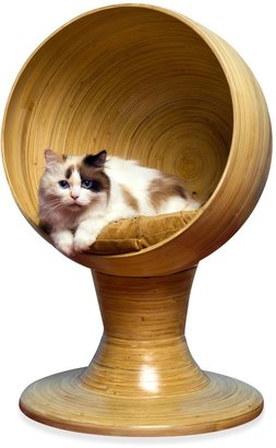 Bed Bath & Beyond The Refined FelineTM Kitty Ball Bamboo BedTM