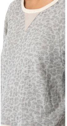 Townsen Cheetah Fleece Pullover
