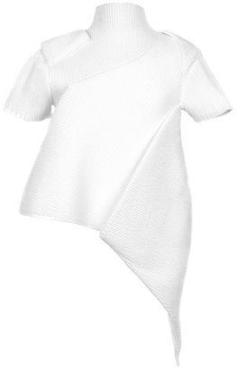 J.W.Anderson Preorder Smocked Folded Top In White