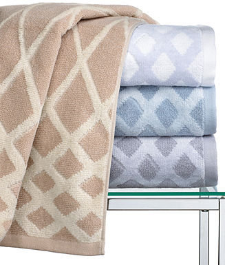 """Hotel Collection Towels, Arabesque 13"""" x 13"""" Washcloth"""