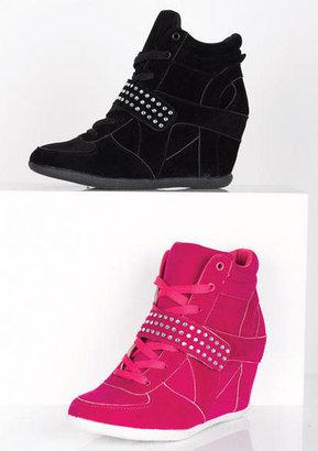 Delia's Katy Sneaker Wedge