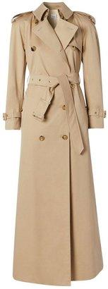 Burberry Custom Fit Cotton Gabardine Trench Coat