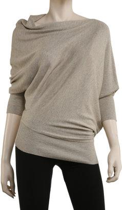 Max Studio Twisted Tunic Sweater