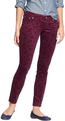 Old Navy Women's The Rockstar Printed Cords