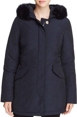 WOOLRICH JOHN RICH & BROS Parka - Luxury Arctic Fur Hood $845 thestylecure.com