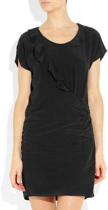 Vanessa Bruno Ruffled silk-crepe dress