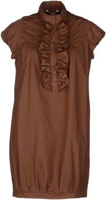 SHI FOUR DENIM Short dresses