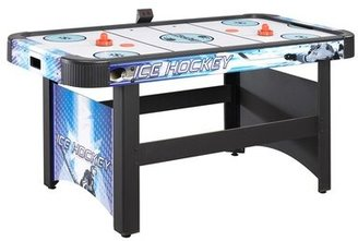 """Face Off 60"""" Two Player Air Hockey Table with Electronic Scoring Hathaway Games"""