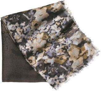 Johnston & Murphy Watercolor Floral Scarf