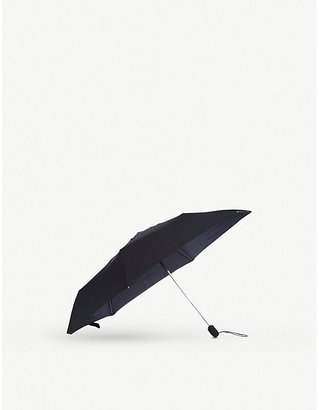 Fulton Women's Black Slim Open And Close Umbrella
