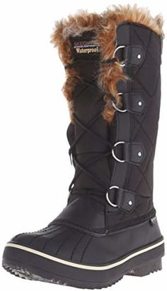Skechers Women's Highlanders-Tall Quilt Snow Boot $67.99 thestylecure.com