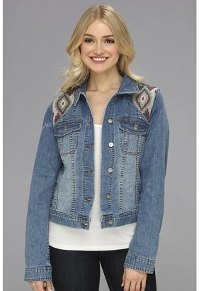 Roxy Dancing Shores Denim Jacket (Light Indigo) - Apparel
