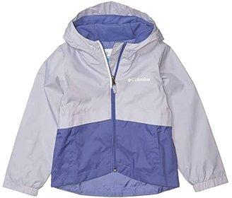Columbia Kids Rain-Zillatm Jacket (Little Kids/Big Kids) (African Violet/Twilight) Girl's Coat