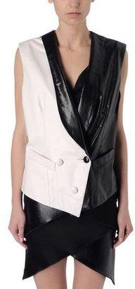 Rodarte Leather outerwear