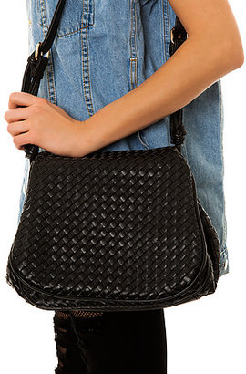 *MKL Accessories The Woven Bag in Black