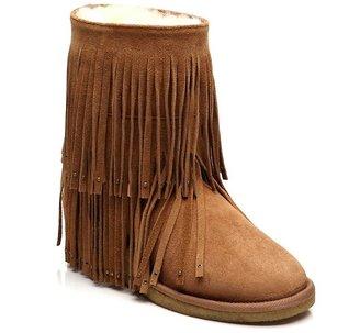 Koolaburra Savannity Boots in Chestnut-ON !