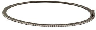 Women's Bony Levy Skinny Stackable Diamond Bangle (Nordstrom Exclusive) $2,195 thestylecure.com