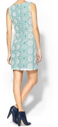 Pim + Larkin Lace Knotch Dress