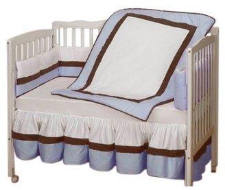 Baby Doll Bedding Classic Crib Bedding Set - Blue