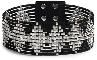 GUESS by Marciano Wide Cord Stretch Belt