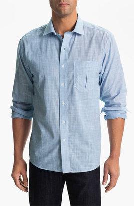 Cutter & Buck 'Blue Ridge Solid' Regular Fit Sport Shirt (Online Only)