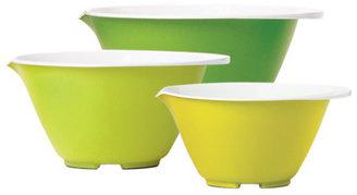 Chef'N Nesting Bowl Set Green Multi