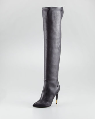 Tom Ford Over-the-Knee Leather Boot