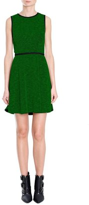 Tibi Tweed Knit Sleeveless Dress